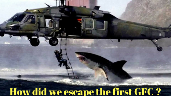 helicopter shark escape GFC