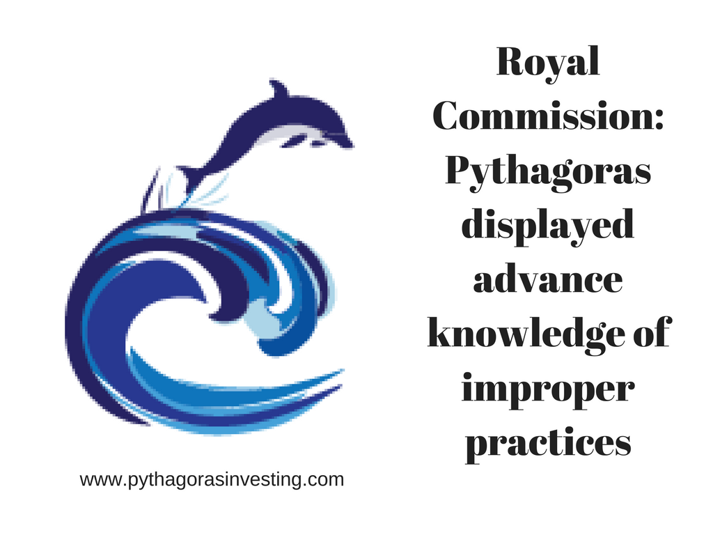 Royal Comission review of improper practices