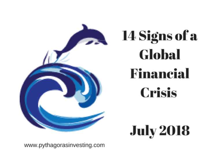 Global Financial Crisis Signs July 2018